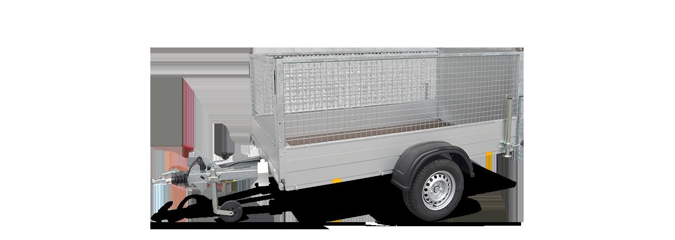 Anssems bakwagen GT-O met loofrekken en oprijklep