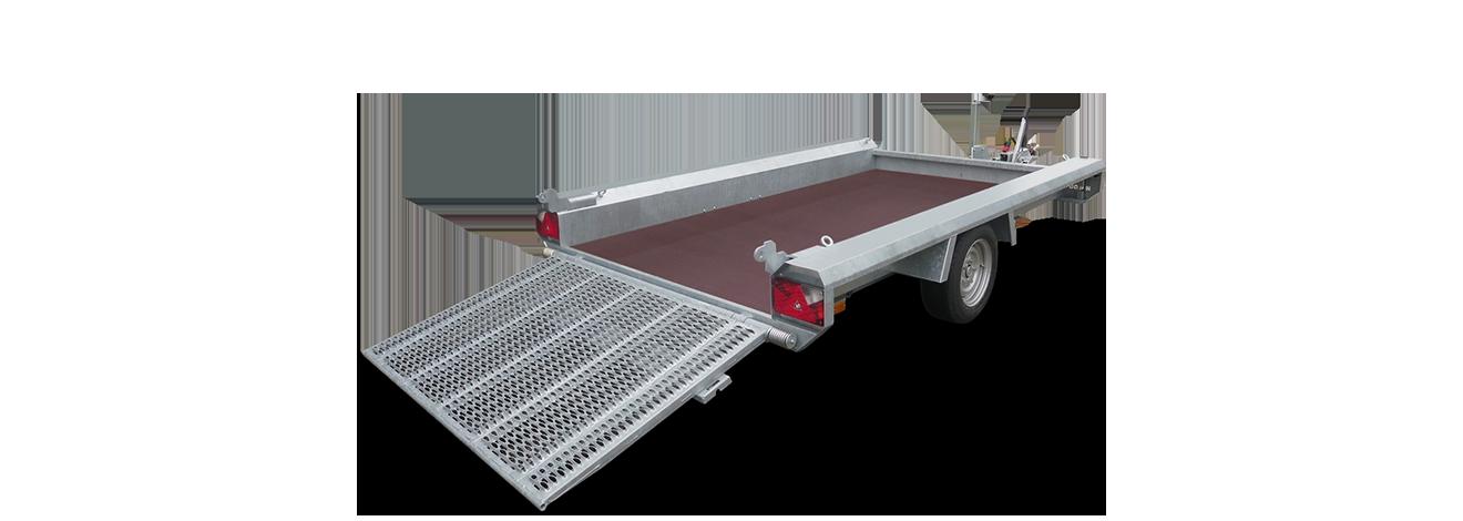 Hulco Terrax-Basic enkelas machinetransporter