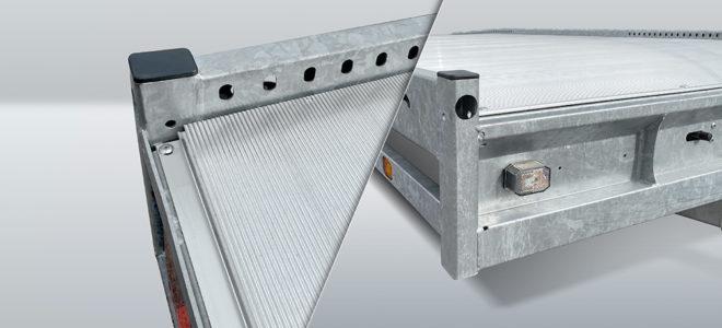 Carax laadvloer aluminium