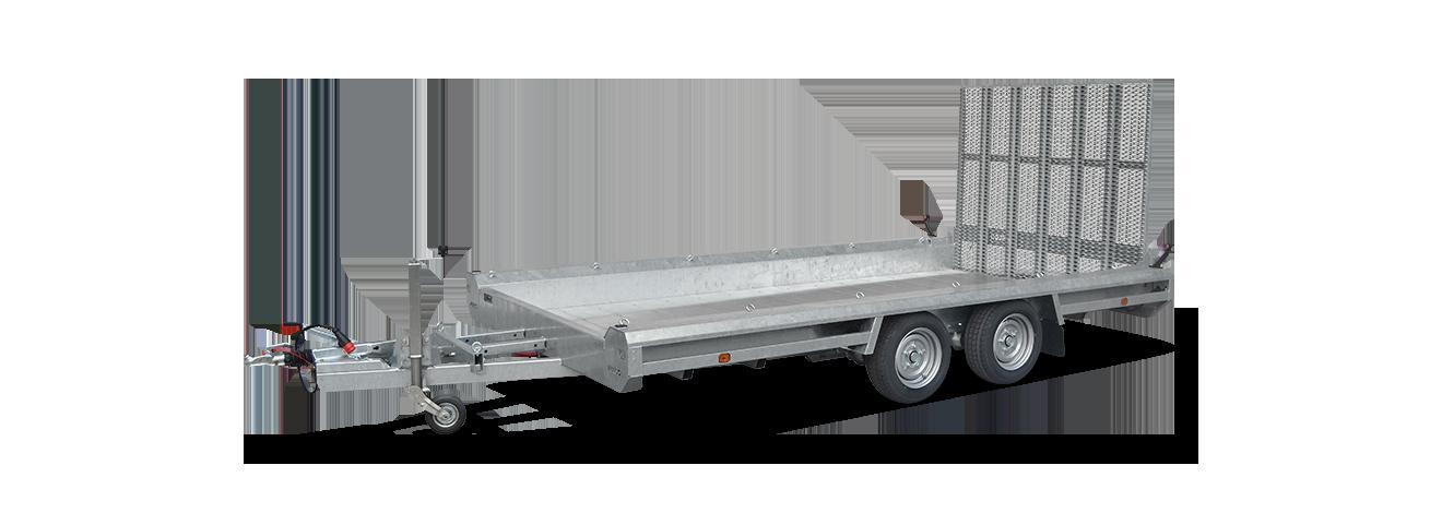 Terrax tandem machinetransporter