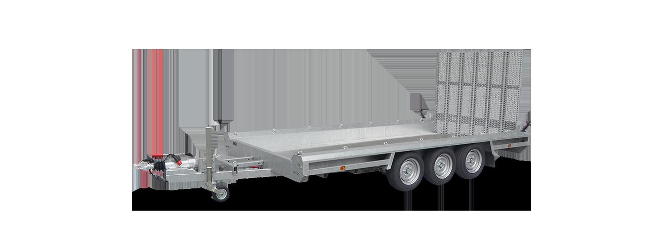 Terrax tridem machinetransporter