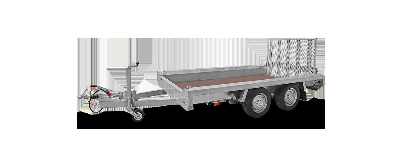 Terrax-Basic tandem machinetransporter