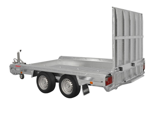 Hulco Baumaschinentransporter gebremst TERRAX-2-3000-294x150 Klappe-150-cm