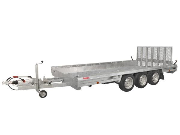 Hulco Baumaschinentransporter gebremst TERRAX-3-3500-394x180
