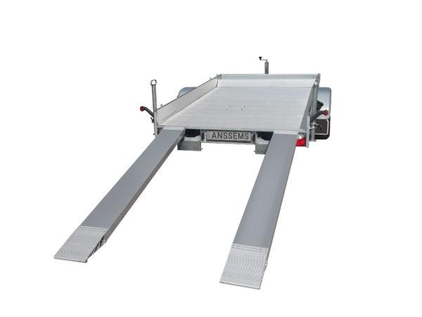 Anssems Anhäger AMT-1200 Fahrzeugtransporter gebremst 340x170 cm