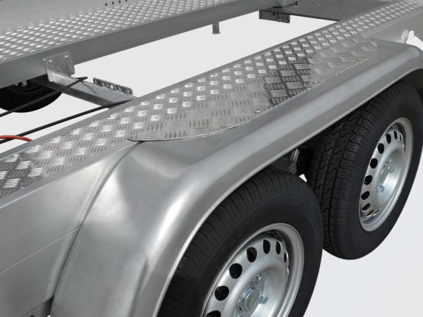 Anssems Anhänger PKW-Transporter-Fahrzeugtransporter gebremst AMT-ECO