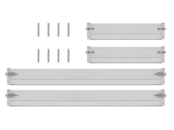 Anssems Zubehör PLT-KLT Aufsatzbordwände 305x150x35 cm
