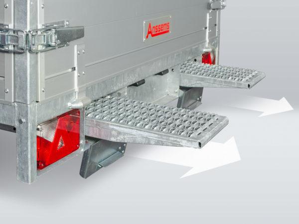 Anssems ASX integrierten Rampenhalterungen