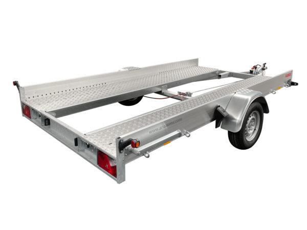 Anssems PKW-Transporter - Fahrzeugtransporter gebremst AMT-1300-400x188-ECO
