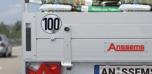 100 km/h Zulassung für Anhänger