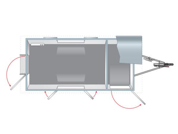 Anssems PTS Bauwagen 1400
